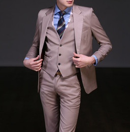 Wholesale custom made formal Men Wedding Groom wedding suits Bridegroom suits Groom Tuxedos