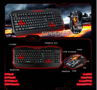 Wholesale good quality S900 northeast tiger game keyboard set cf cs game keyboard set