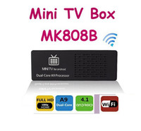 Wholesale MK808B MK808 MINI PC Android RK3066 Bluetooth Google Android Smart TV BOX Stick Dongle GB GB