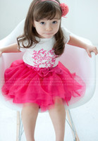 Wholesale Girls Summer Wear Sugar Colored TUTU Skirts Layer Veil Cake Skrits Ball Gown Skirts