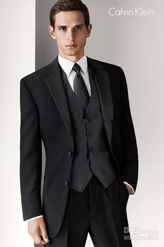 2011 New Style Wedding/Prom Men Suits Groom Tuxedos Bridegroom ...