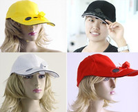 Wholesale N88 Black Solar Power Hat Cap with Cooling Fan for Outdoor Sport Golf Baseball