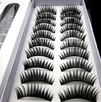 Wholesale hot Mascara thick false eyelashes price pairs