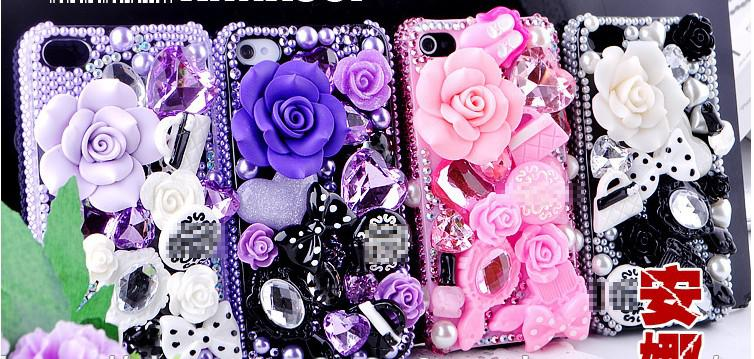 How to how to decorate your phone case : Phone Cases DIY Kits Decorations Glue Phone Decoration Mobile Phone ...