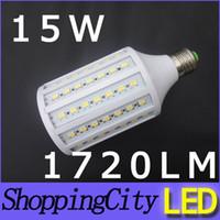 big discount E27 15W 1720LM SMD5630 86leds warm white AC110V...