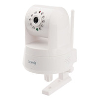 Wholesale Wireless Pantilt H HD P2P IR Cut Filter Megapixel IP Network Camera Tenvis IPROBOT F1037B