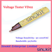 Wholesale Pen Type Non contact Voltage Tester VD02 hand held detector