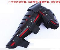 Wholesale red Black racing knee pad motorcycle knee protector motorbike protective gears