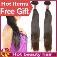 Wholesale 12 quot quot mix length Brazilian virgin remy silky straight hair weave natural color