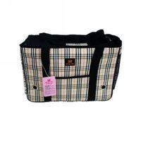 Wholesale Dodopet quality exquisite classic check pet bag dog pack cat pack pet bag th
