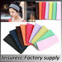 Yoga Mats   Yoga Headband Polyester Lots 18*5.5cm 9Color Soft Comfortable Exercise Fitness Yoga Equipments