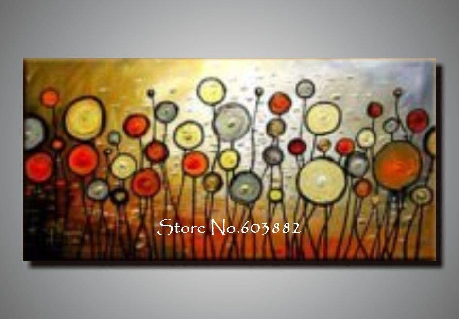 Discount 100 handmade large canvas wall art abstract for Where to buy cheap artwork