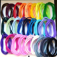 Wholesale Multi Color Baby Nylon Stretch Headband Girls hairband Elastic headband pieces