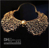 Wholesale Min order is mix order FASHION Metal Carved Collar Necklace Jewelry
