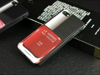 For Apple iPhone tpu For Christmas 20pc Retail box Nail Polish color perfume Case UV Coating soft TPU Case for Iphone 5 for iPhone 4 4S