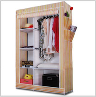 Wholesale 2013 non woven fabrics folding wardrobe chest of drawers garderobe clothes closet