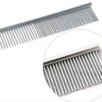 Wholesale Pet row of comb pet comb wellsore comb dual