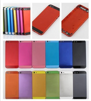 Wholesale Colorful Metal Housing Back Cover Battery Door for iphone G