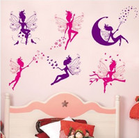 PVC angels graphics - White film new little angel Removable wall stickers new F155