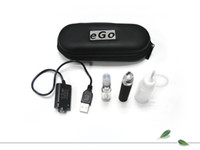 Wholesale eGo CE4 kit electronic cigarette kits CE4 Atomizer Clearomizer mah mah mah battery ego e cigarettes kit Zipper Carry case DHL Free