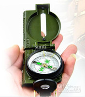 Wholesale New Pocket Army Green Military Lensatic outdoor Hiking Camping Compass V3350
