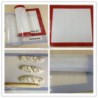 Wholesale pastry boards X15 quot Non stick silicone baking liner doughing baking mat sugar art sheet fondant mat