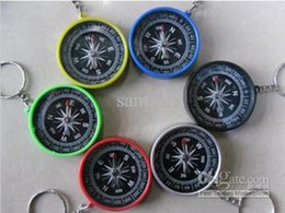 Wholesale Mini compass compass pocket High accuracy and stability American compass keychain compass