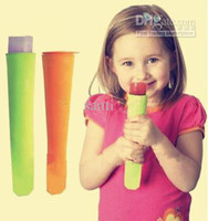 silicone glace pop maker Push Up Ice Cream bâton Jelly Lolly Pop Pour Popsicle Silicone glace pop moule moule