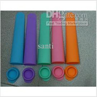 Wholesale Silicone ice pop mold mould silicone ice pop maker Push Up Ice Cream Jelly Lolly Pop For Popsicle