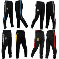 Wholesale 1PCS New Soccer warm Football Training Pants size L XL select refer the chart