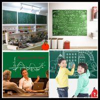 Removable wall board - 45x200cm Green Board Chalkboard Wall Paper Sticker Decoration Removable fancy drawing board