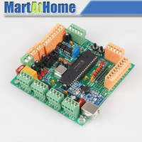 Wholesale New Axis USB CNC Breakout Board controller CNCUSB USBCNC Alternative MACH3 SM535 SD