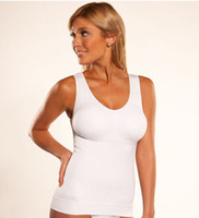 genie camishaper - CamiShaper by Genie Cami Shaper Body Slimmer Tummy Trimmer Slimming Shapewear With Removable Pads