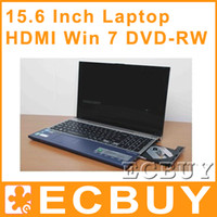 Wholesale 15 Inch Laptop Computer Win7 Dual Core HDMI G G G DDR3 G G G G G Netbook Computers