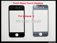 Wholesale For iPhone G Outer Front Touch Glass Screen Digitizer Display Repair Parts