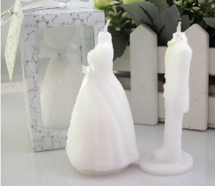 Bride And Groom Wedding Reply Candles Favors For Party Gifts Online ...