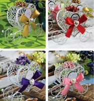 Wholesale European Style Princess wedding decorations Dream pumpkin car candy box Carriage candy boxed