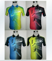 Wholesale butterfly Men s Table Tennis Badminton sportswear T shirt Color