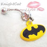 Alloy batman body jewelry - Body Jewelry Fashion Batman Dark Knight Accesories piercing rings CC001 navel belly rings