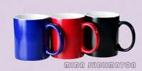 Wholesale sublimation coated mug color changing gift mug photo coffee cup high quality piece carton