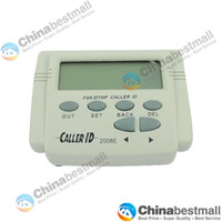 Wholesale CID E FSK DTMF Mobile Phone Telephone Line Powered Caller ID Display with Call History