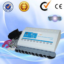 Christmas promotion Russian wave fat reduce Electro Muscle Stimulator Machine for weight loss CE approval AU-800S