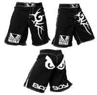 Shorts mma - L XL XXL XXXL MMA Scrupper Fight shorts man shorts male bottoms R39