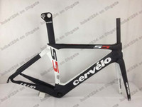 Wholesale High quality Top cervelo S5 s5VWD full carbon road bike frame Aero seatpost fork headset Cervelo S5 TEAM VWD carbon bike frame