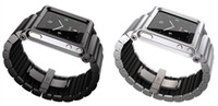 Wholesale LunaTik LYNK all metal Aluminum Watch Band Wrist Strap for iPod Nano pc with retail box