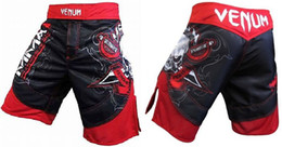 Wholesale L XL XXL XXXL MMA Venum Piarte O BL00DY RED man shorts R43