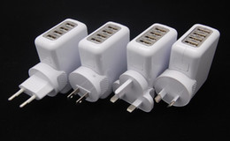 phone travel USB wall charger for other digital products with 4 USB ports
