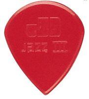 Wholesale 72 Pieces Dunlop Jazz III Stiffo picks in red Guitar Picks