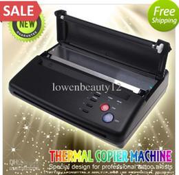 Wholesale N Thermal Hectograph Printer Tattoo Stencil Flash Copier Machine Maker Copier KIT paper
