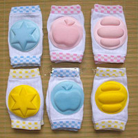 Wholesale New KIDS DUDU Elbow Knee Pads Baby Crawling Knee Pad Toddler Elbow Pads Children Safety Accessory